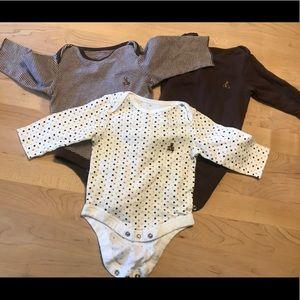 Baby Gap Long Sleeve Onesies Set of 3